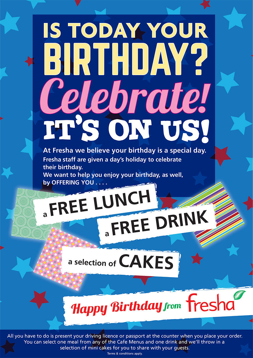 fae7aff0e06 Birthday offer - Fresha